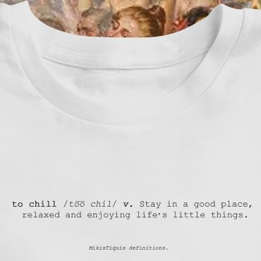 Camiseta Def. To Chill